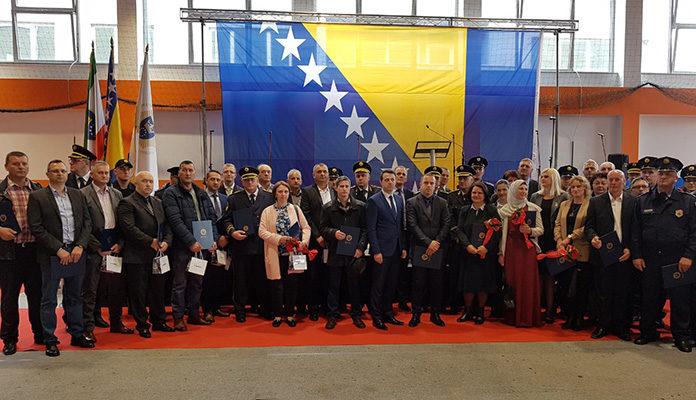 U Zenici obilježen Dan policije Zeničko-dobojskog kantona