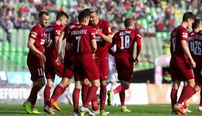 Poraz Sarajeva od BATE Borisova u Zenici