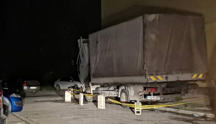 Gorio kamion na Mokušnicama u Zenici
