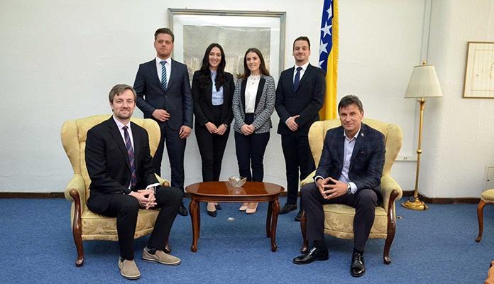 Premijer Novalić primio studente Pravnog fakulteta Univerziteta u Zenici