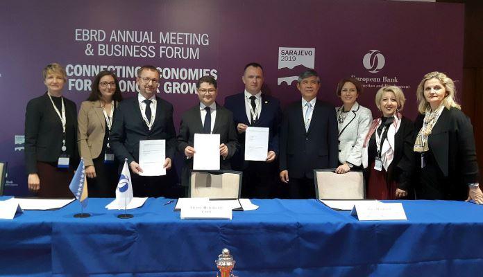 Ministar Spahija Kozlić potpisao memorandum o saradnji o dualnom obrazovanju sa EBRD-om (FOTO)