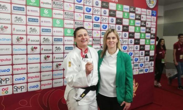 Larisa Cerić se vratila kući nakon osvojenog srebra u Bakuu