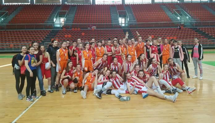 """""""Crvena zvezda"""" pobjednik 2. međunarodnog turnira """"Ja sam košarkašica"""""""
