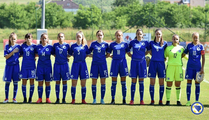 Remi ženske U17 BiH sa Sjevernom Makedonijom u Zenici