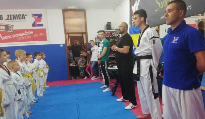 """Članovi Taekwondo kluba """"Zenica"""" polagali za više pojaseve"""