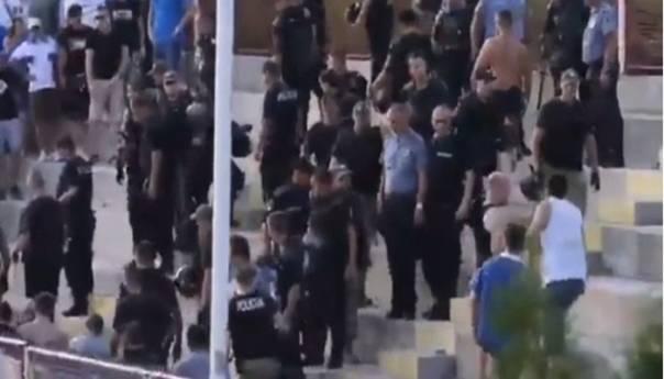 FK Željezničar osudio napad policije ZDK na njihove navijače (VIDEO)