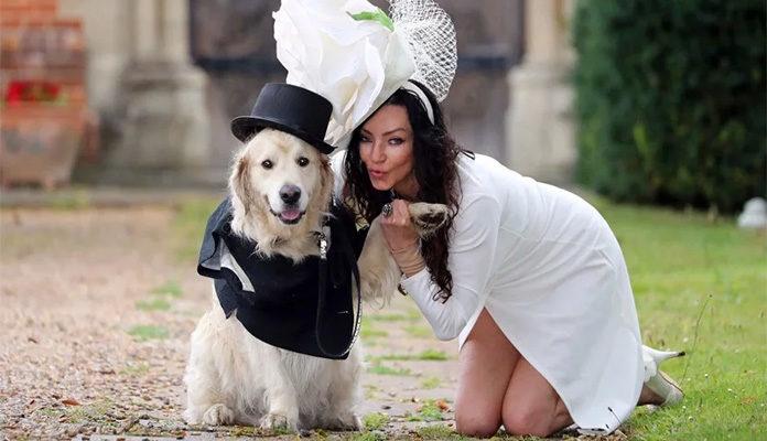 Nakon mnogo neuspjelih veza bivša manekenka se udaje za svog psa