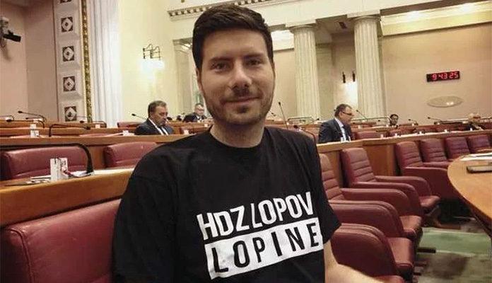 Ivan Pernar natpisom na majici pružio podršku radnicima Aluminija