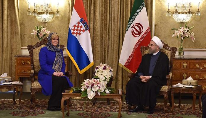 Kitarović optužila BiH za povezanost s Iranom, 2016. potpisala saradnju sa Teheranom