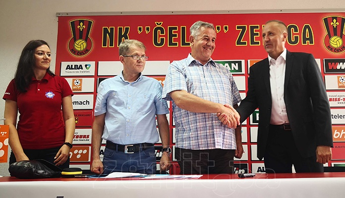 NK Čelik potpisao ugovor s Biss Tours d.o.o. Zenica (FOTO)