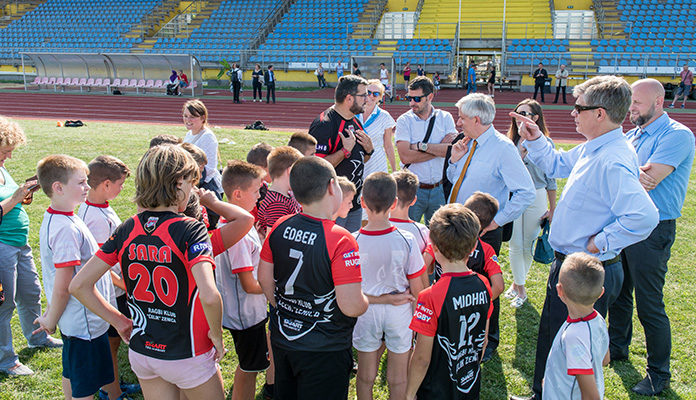 Održan trening mladih selekcija ragbi kluba Čelik