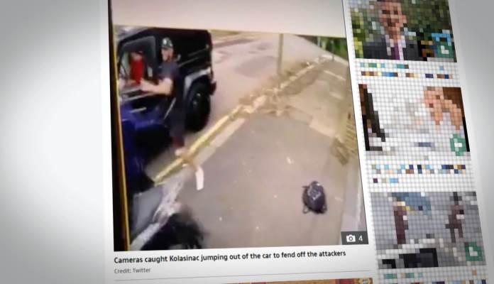 Ozil napadnut nožem, Kolašinac ga odbranio (VIDEO)