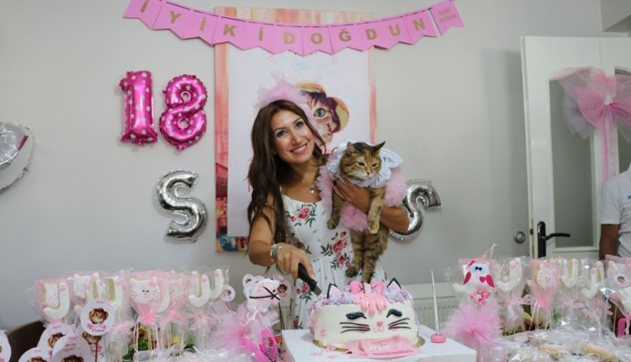 Zabava povodom 18. rođendana mačke