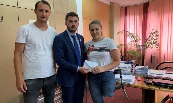 Ministar Isak: Podrška talentiranoj sportistkinji Sabiri Dizdarević