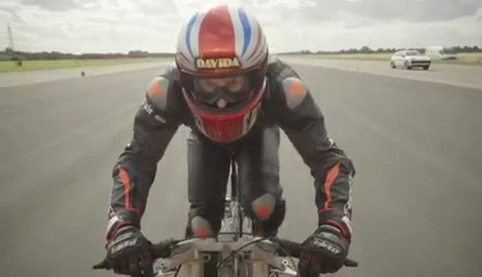 Biciklom vozio 280,5 kilometara na sat (VIDEO)