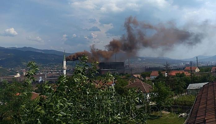 Eksplozija u kotlu Čeličane u ArcelorMittalu Zenica (VIDEO)