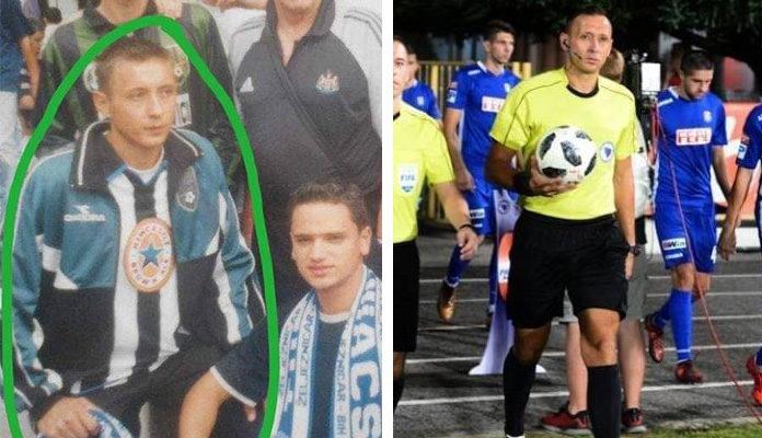 Utakmicu Čelik - Željezničar sudi navijač plavih?