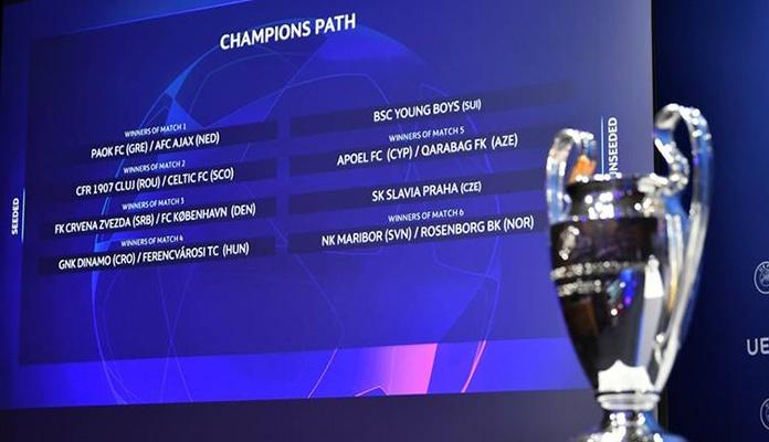 Liga prvaka: Poznat put Dinama i Crvene zvezde do grupne faze