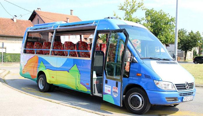 Upozorenje onima koji obavljaju djelatnost prevoza putnika mini busem ili kombijem