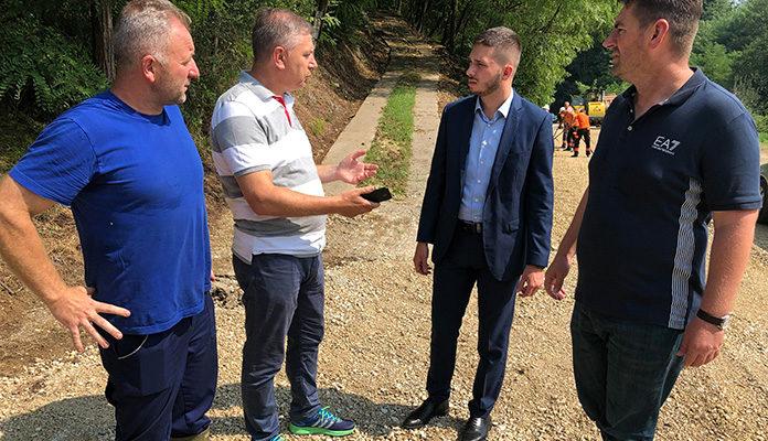 Ministar Isak posjetio Tešanj i područja ugrožena poplavama