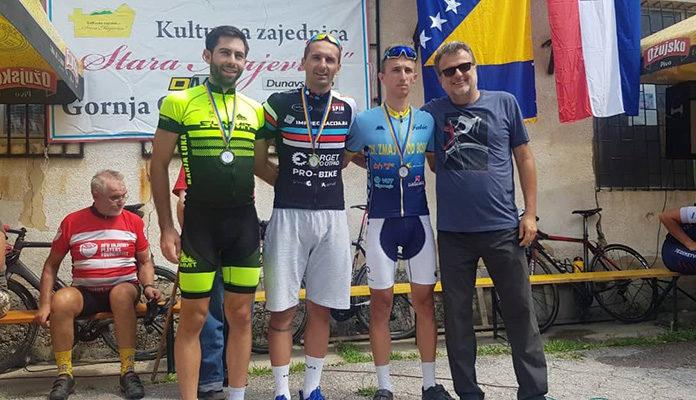 """Vedad Karić pobjednik 11. utrke """"Memorijal svim biciklistima"""""""