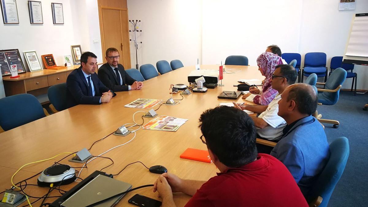 Premijer ZDK Mirza Ganić i ministar Spahija Kozlić posjetili ArcelorMittal Zenica (FOTO)