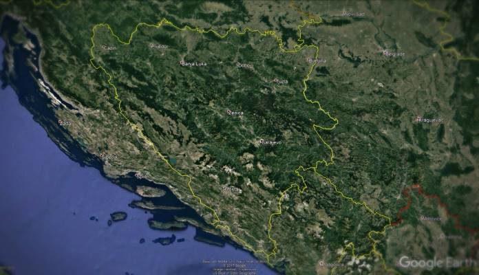 Bosna i Hercegovina preuzima nebo od Srbije i Hrvatske