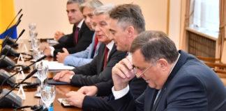 Predsjedništvo BiH Sa Ambasadorima