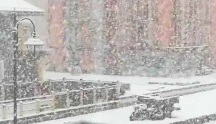 Snijeg u Austriji i Italiji (VIDEO)