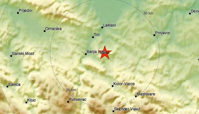 Novi zemljotres u BiH, nakon Tuzle jutros Banja Luka