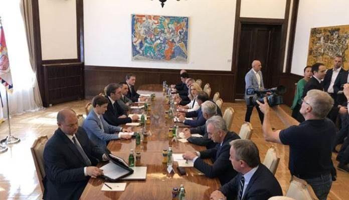 Počeo sastanak u Beogradu
