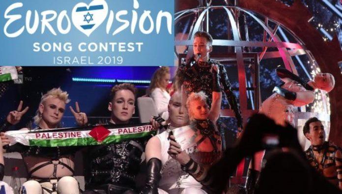 EBU kaznio Island zbog isticanja zastave Palestine
