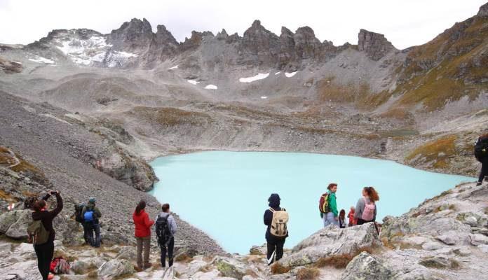 Klimatski aktivisti opraštaju se od švicarskog glečera