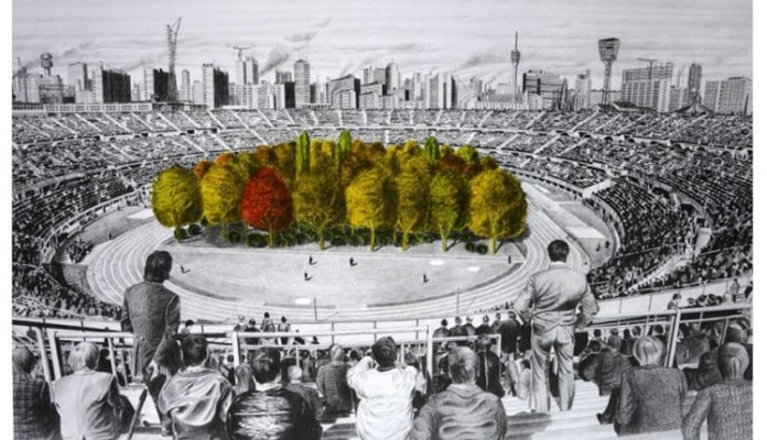 Šuma nikla na austrijskom stadionu