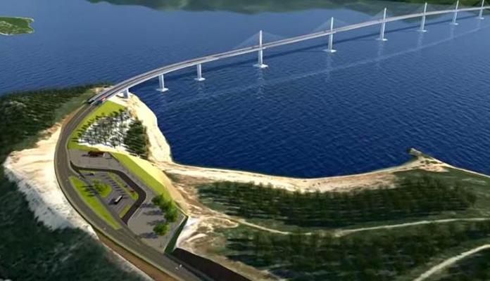 3D Simulacija Pelješki Most