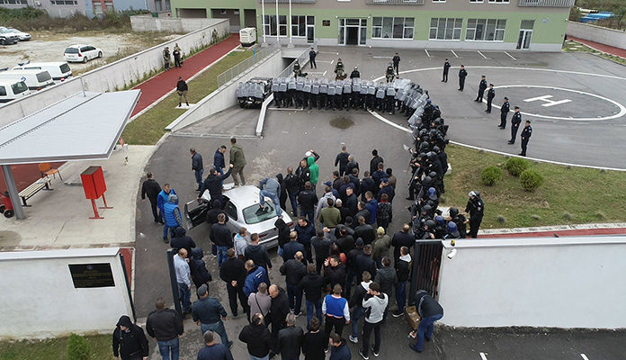 Demonstracije MUP ZDK