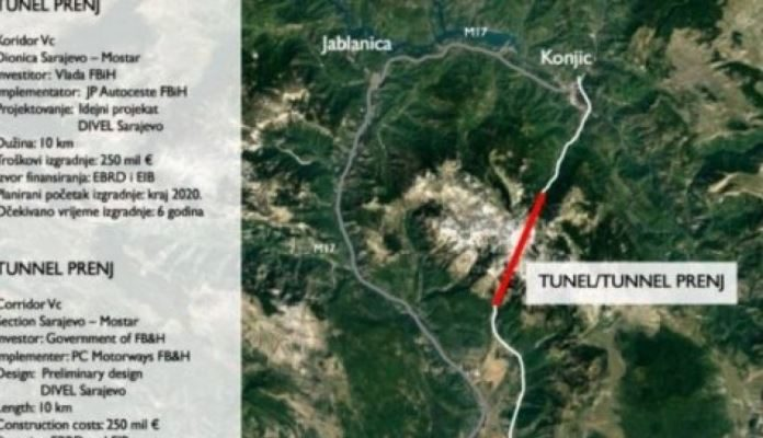 Naučno-stručni skup o izazovima građenja tunela Prenj na Koridoru Vc