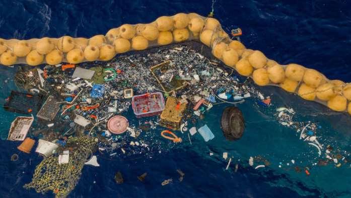 Otpad u Pacifiku čisti ogromna plutajuća naprava (VIDEO)