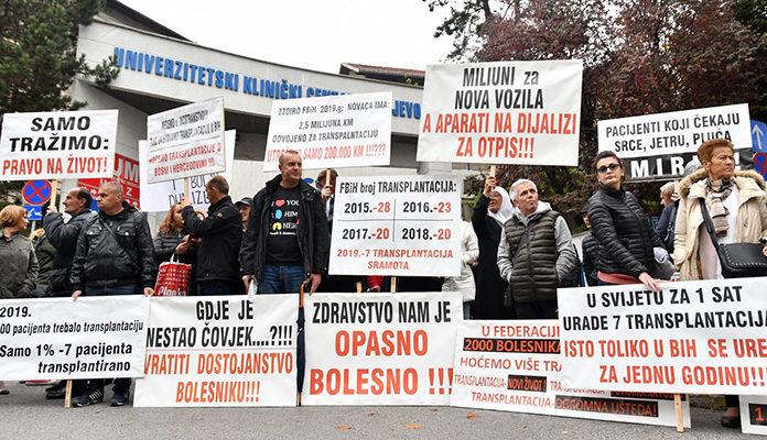 Protest Pacijenata