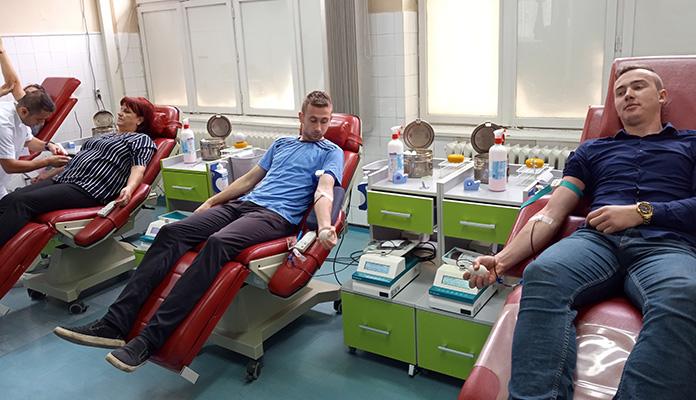 Crveni križ organizuje prvu ovogodišnju akciju darivanja krvi
