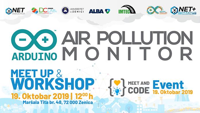 Besplatna radionica programiranja: ARDUINO AIR POLLUTION MONITOR