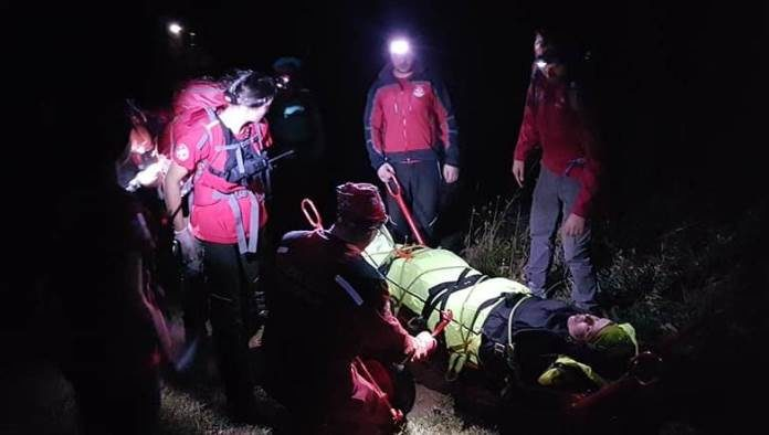 Pripadnici GSS-a na planini Kamešnici spasili planinarku