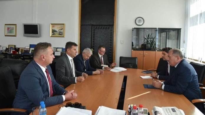 Susret Novalića i Mektića