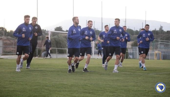 Reprezentacija BiH počela pripreme pred predstojeće utakmice