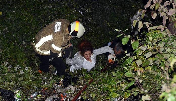 Žena pala u provaliju, a pomoć prihvatila tek kad joj je pronađen mobitel