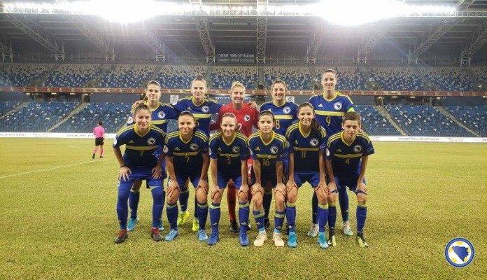 Bh. seniorke pobjedom nad Izraelom osvojile treću pobjedu na putu za EURO 2021.