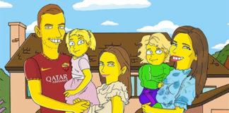 Edin Džeko Simpsonovi
