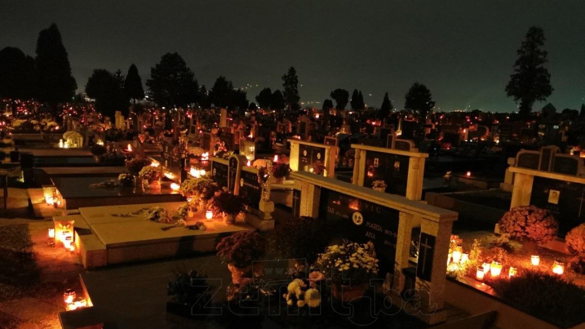 U Zenici obilježen katolički blagdan Svih svetih (FOTO)