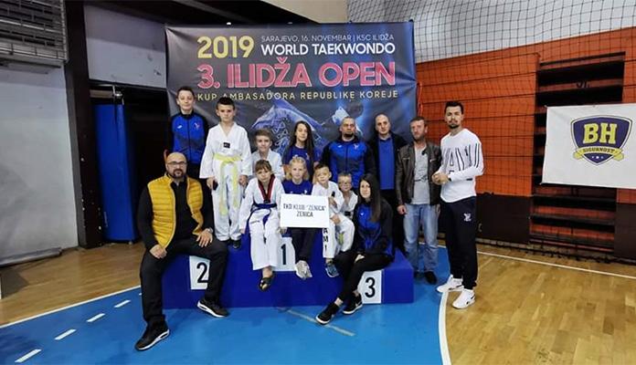 Taekwondo klub Zenica nastupio na turniru Ilidža Open 2019