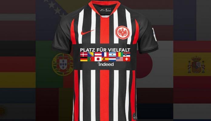 Šta predstavlja zastava BiH na specijalnim dresovima njemačkog Eintrachta?